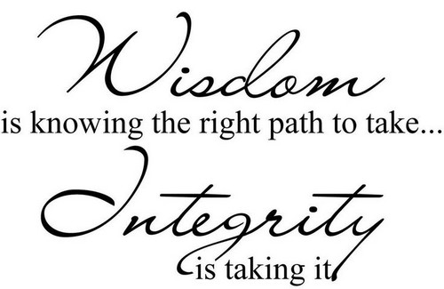 """""""Clothed in Integrity""""(17/40)"""